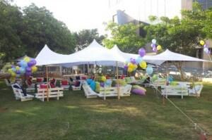 השכרת אוהל בהתאם לסגנון האירוע