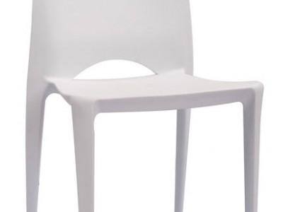 כסא פולו לבן