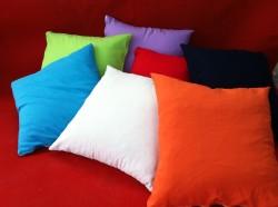 כריות בצבעים