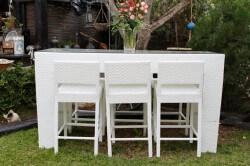 שולחן ראטן 200-80